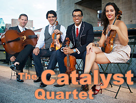The Catalyst Quartet; photo by Michael Shane